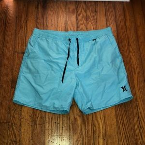 Hurley Teal Volley Shorts